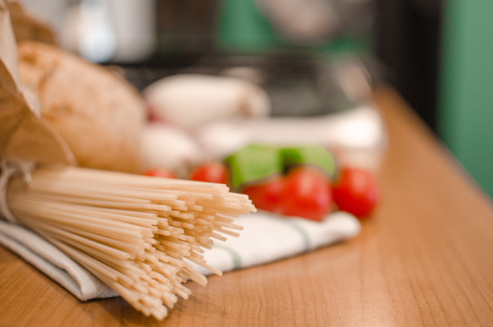 fotografia food spaghetti