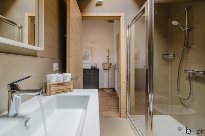 casa di montagna legno mansarda vacanza affitti brevi monolocale bagno
