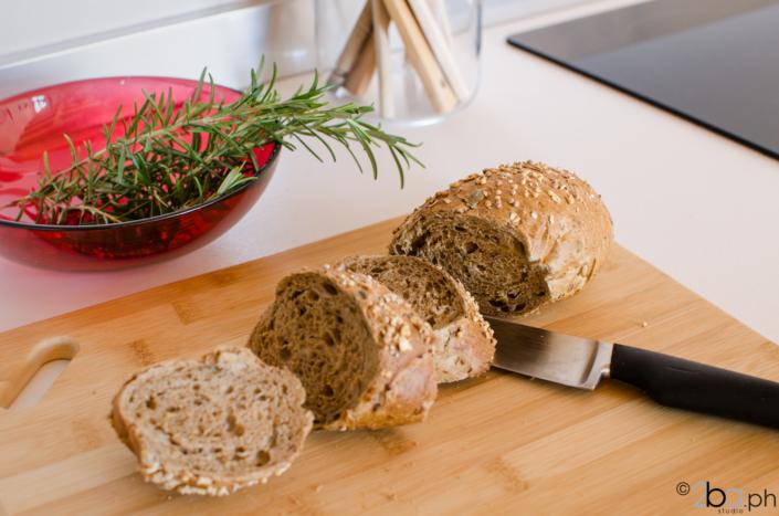 dettaglio pane fragrante montagna