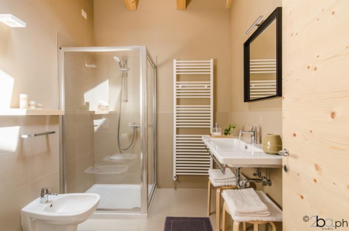 bagno in mansarda casa vacanze