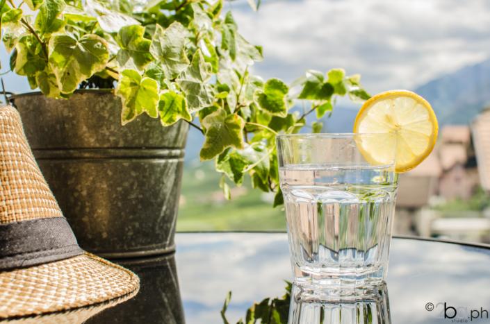acqua fresca in balcone valle di non